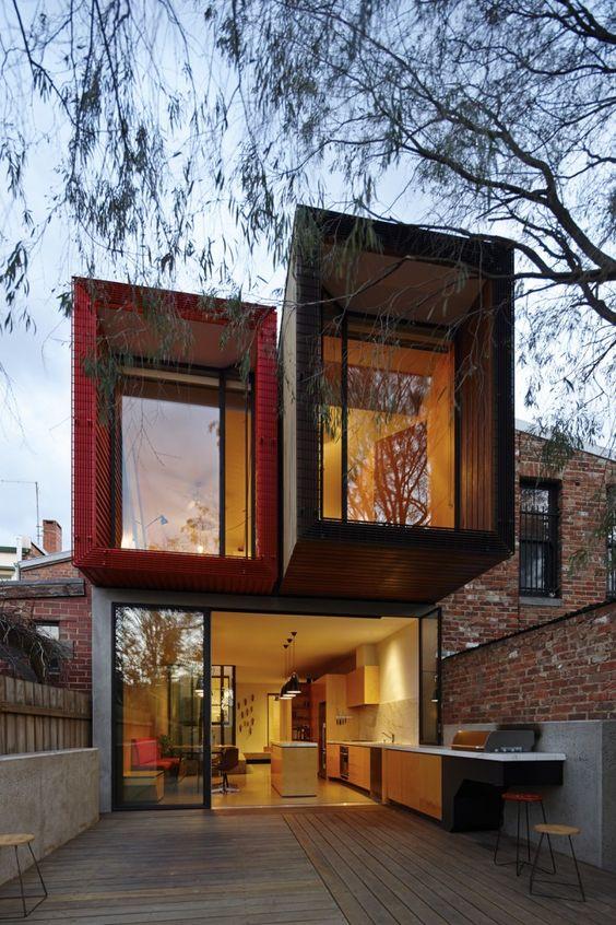 Maisons contemporaines et design rien ne les arr te bienchezmoi - Cout d une maison container ...