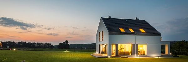 Eclairage d'une maison