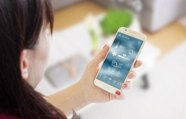 Régler la température depuis un smartphone