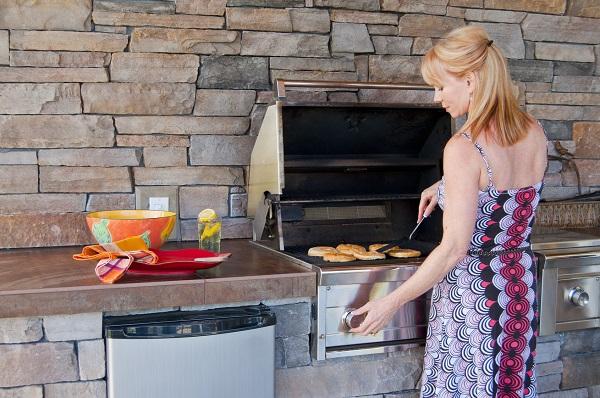 Cuisson barbecue cuisine extérieure