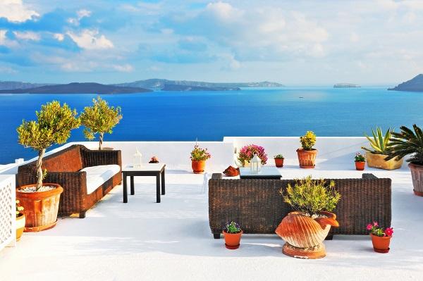 Toit terrasse  avec vue sur mer