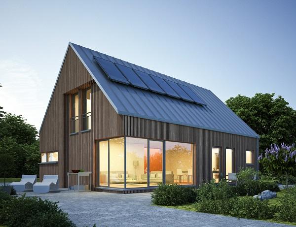 Zoom : Maison connectée en bois dans le Var   BienChezMoi