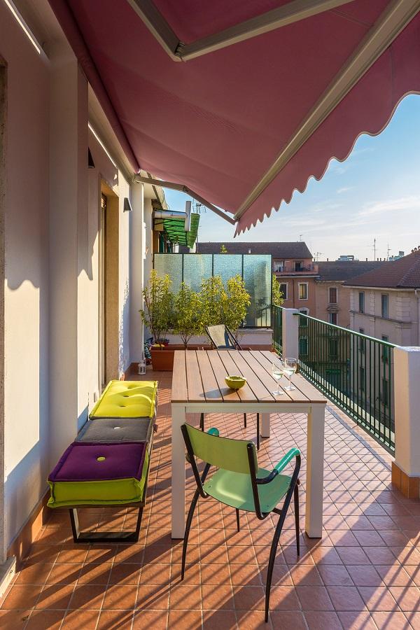 Store banne terrasse balcon