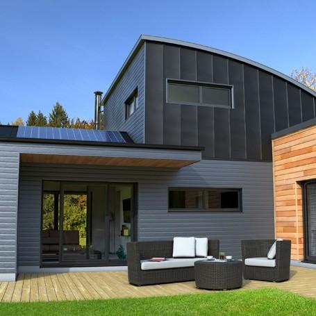 Baradge bois et métal Maison individuelle