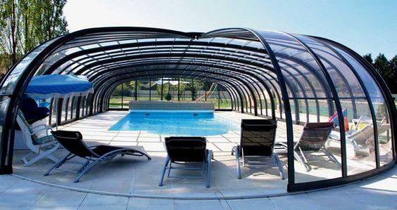 Couverture de piscine b che volet ou abri bienchezmoi - Prix piscine enterree couverte ...