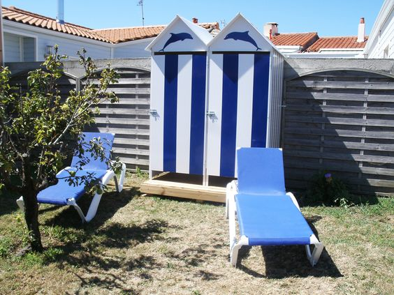 Cabane de jardin cultivez l 39 esprit outdoor bienchezmoi - Cabine de plage pour jardin ...