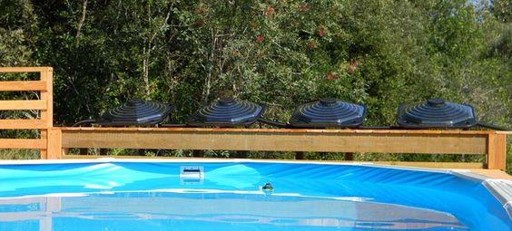 Chauffage solaire pour piscine mod les et prix bienchezmoi for Dome solaire piscine hors sol