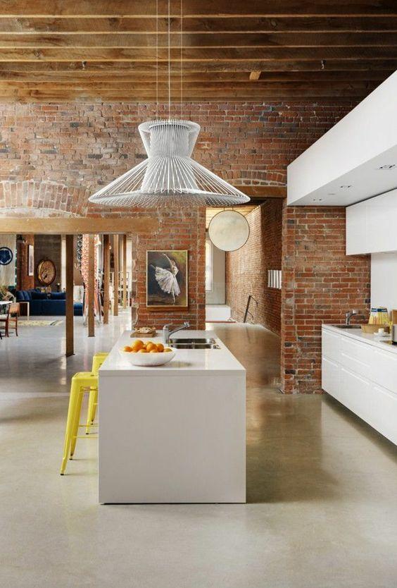 7 id es pour une cuisine ouverte moderne bienchezmoi for Cuisine ouverte design