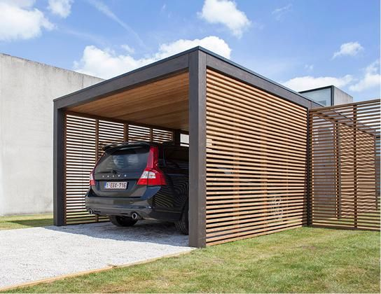 carport protection et design bienchezmoi. Black Bedroom Furniture Sets. Home Design Ideas