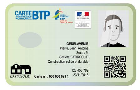 Carte BTP
