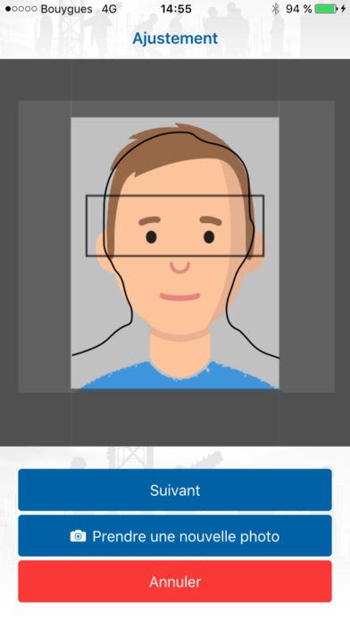 Carte BTP Photo Application