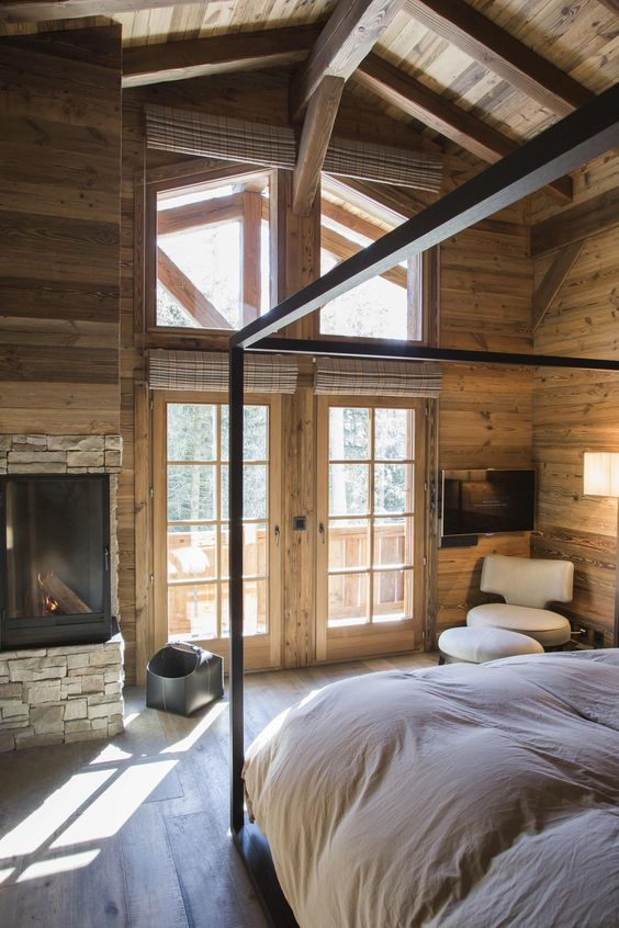 Chalet chambre
