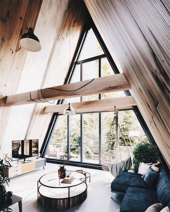Chalet minimaliste bois