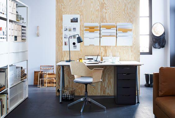 am nager un coin bureau chez soi bienchezmoi. Black Bedroom Furniture Sets. Home Design Ideas