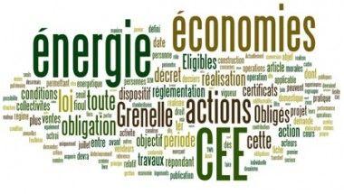 Economies d'énergie CEE