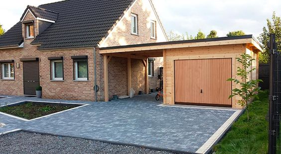 Construire un garage en bois bienchezmoi for Cout construction garage 20m2