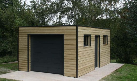 Construire un garage bienchezmoi for Garage en bois 20m2