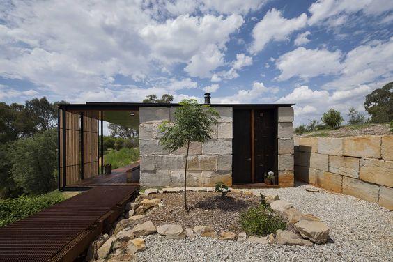 Maison bioclimatique plain-pied vue extérieure