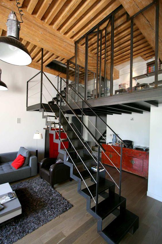 Construire une mezzanine bienchezmoi - Mezzanine pour studio ...