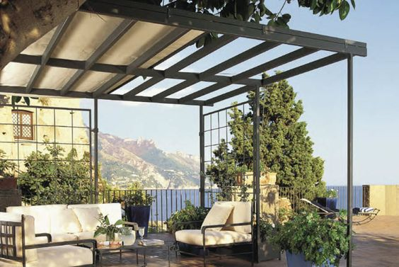 Pergola alu l gance et caract re bienchezmoi for Pergola design alu