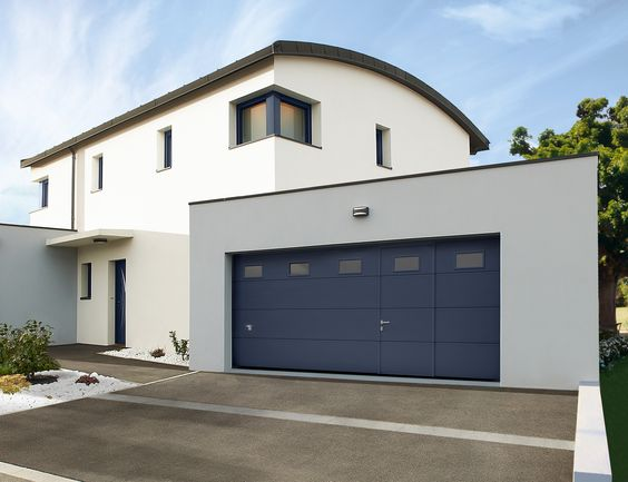 Garage double configuration et prix bienchezmoi for Double porte de garage