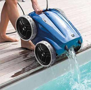 Bien choisir son robot de piscine bienchezmoi - Robot piscina zodiac ...
