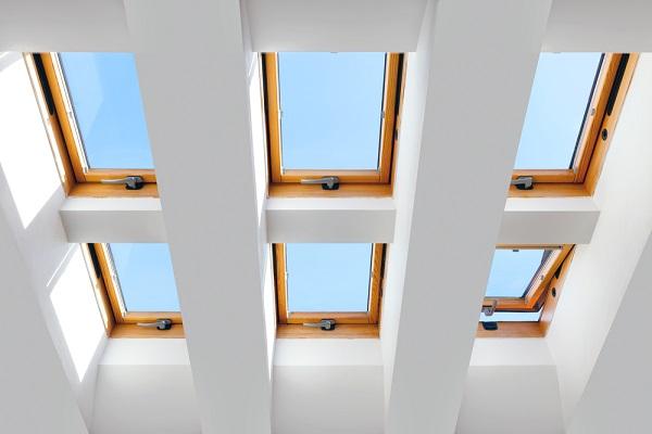 Fenêtres de toit multiples
