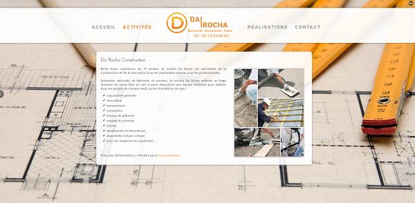 Page d'accueil - DaRocha