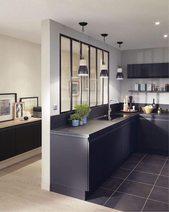 Verrière intérieure atelier : 18 idées de la cuisine à la ...